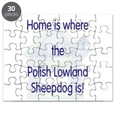 Home...Polish Lowland Sheepdo Puzzle