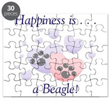 Happiness is...a Beagle Puzzle