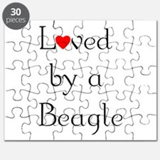 Loved by a Beagle Puzzle