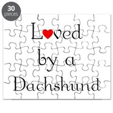 Loved by a Dachshund Puzzle