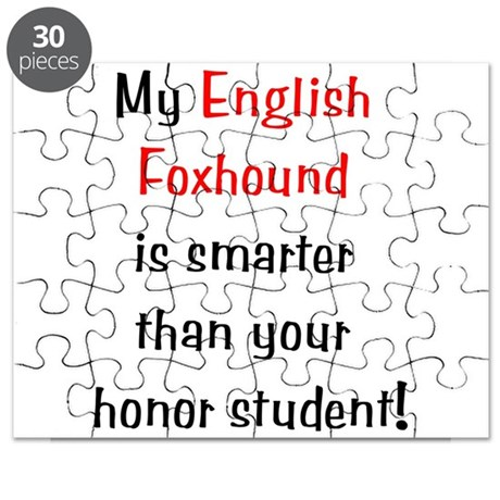 My English Foxhound is smarte Puzzle