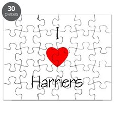 I Love Harriers Puzzle