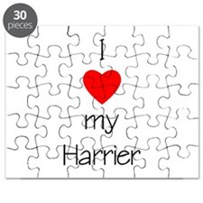 I Love My Harrier Puzzle