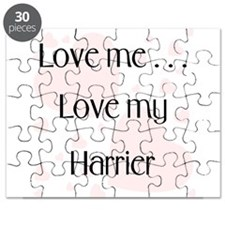 Love Me...Love My Harrier Puzzle