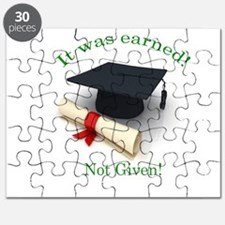 It was earned! Not Given! Puzzle