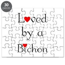 Loved by a Bichon Puzzle
