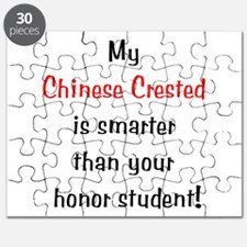 My Chinese Crested is smarter Puzzle
