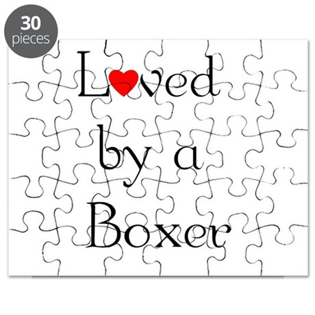 Loved by a Boxer Puzzle