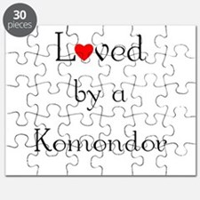 Loved by a Komondor Puzzle