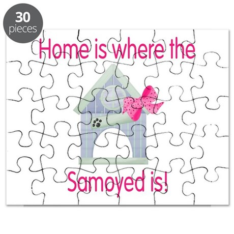 Home is where the Samoyed is Puzzle