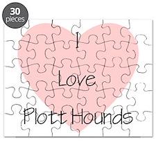 I Love Plott Hounds Puzzle
