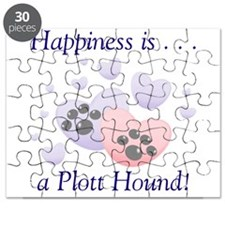 Happiness is...a Plott Hound Puzzle