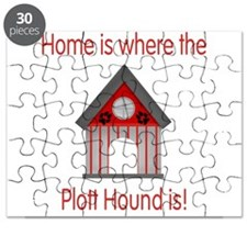 Home is where the Plott Hound Puzzle