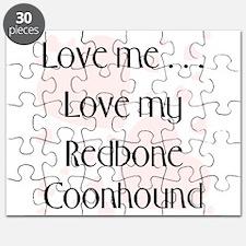 Love Me...Love My Redbone Coo Puzzle