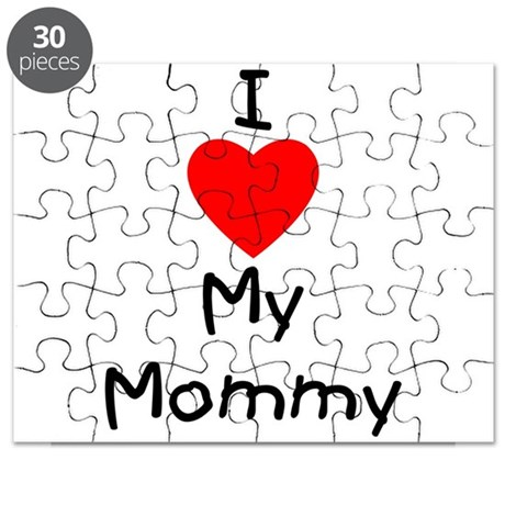 I love my mommy Puzzle