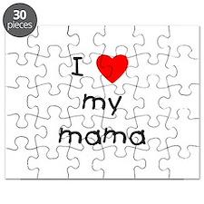 I love my mama Puzzle
