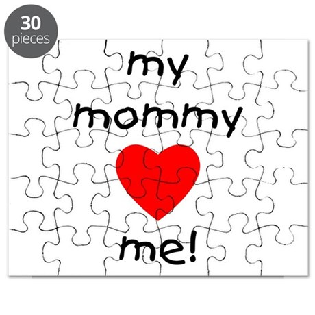 My mommy loves me Puzzle