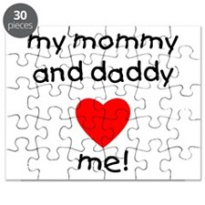My mommy and daddy love me Puzzle