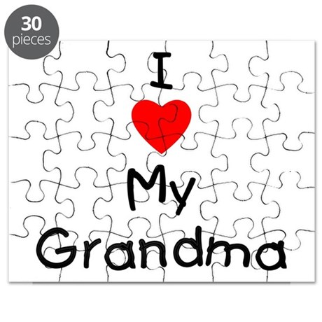 I love my grandma Puzzle