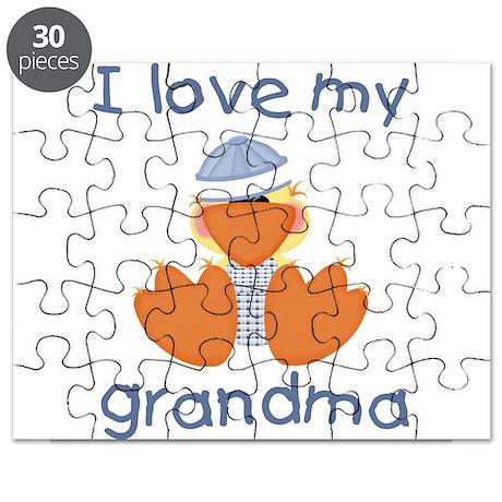 I love my grandma (baby boy d Puzzle