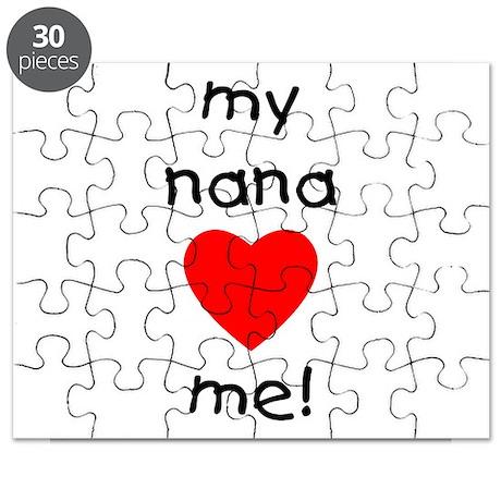 My nana loves me Puzzle
