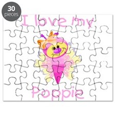 I love my poppie (girl bfly) Puzzle