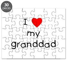I love my granddad Puzzle