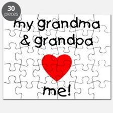 My grandma & grandpa love me Puzzle