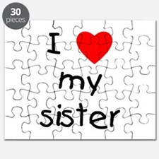 I love my sister Puzzle