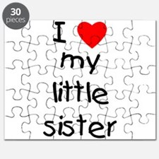 I love my little sister Puzzle