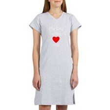 My big brothers love me Women's Nightshirt
