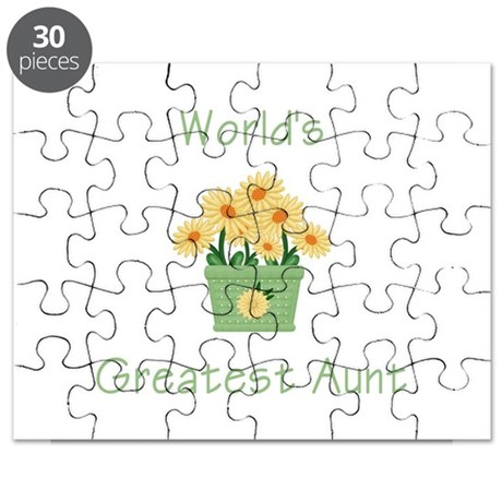 World's Greatest Aunt (y) Puzzle
