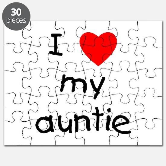 I love my auntie Puzzle