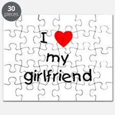 I love my girlfriend Puzzle