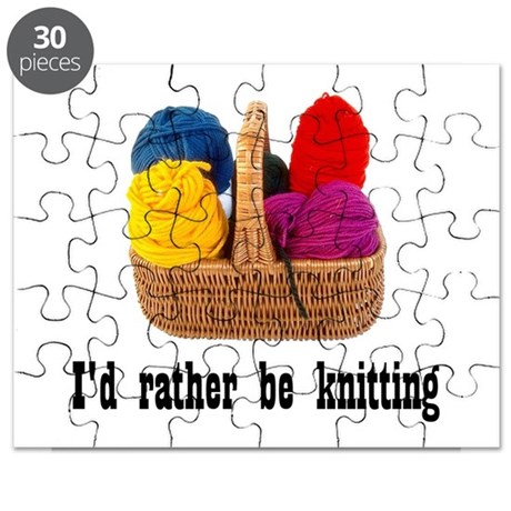 I'd rather be knitting Puzzle