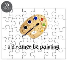 I'd rather be painting Puzzle