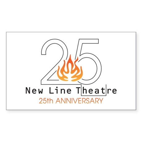 25th anniversary decal by newlinetheatre - Color of th anniversary ...
