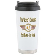 Number 1 Father-in-law Stainless Steel Travel Mug