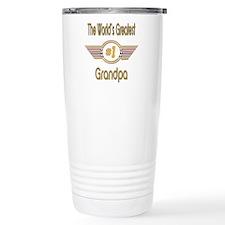 Number 1 Grandpa Travel Coffee Mug
