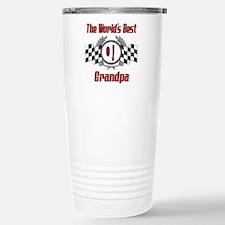 Racing Grandpa Stainless Steel Travel Mug