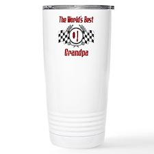 Racing Grandpa Travel Coffee Mug