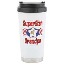Superstar Grandpa Travel Mug
