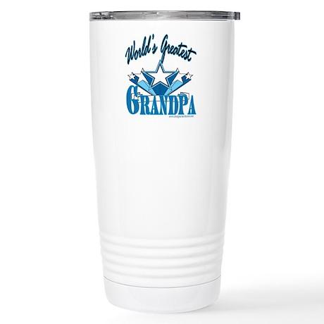 Greatest Grandpa Stainless Steel Travel Mug