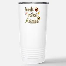 Grandma Butterflies Travel Mug