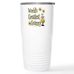 Granny Bumble Bee Travel Mug