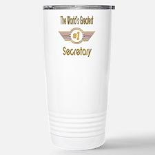 Number 1 Secretary Travel Mug