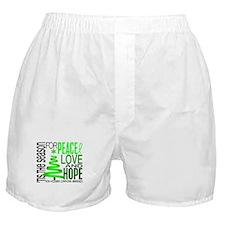 Christmas 1 Non-Hodgkin's Lymphoma Boxer Shorts