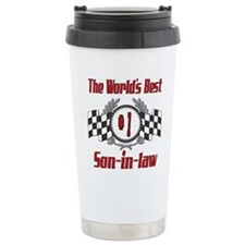 Racing Son-in-law Stainless Steel Travel Mug
