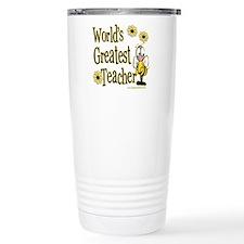 Teacher Bumble Bee Travel Coffee Mug