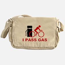 I PASS GAS bicyclist Messenger Bag
